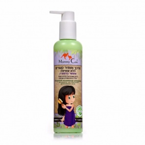 Kids Natural Hair Conditioner and Detangler Enriched With Rosemary Mommy Care Натуральный несмываемый кондиционер с розмарином