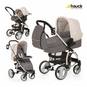 Коляска 3х1 Hauck Malibu XL  All in One Set Rock