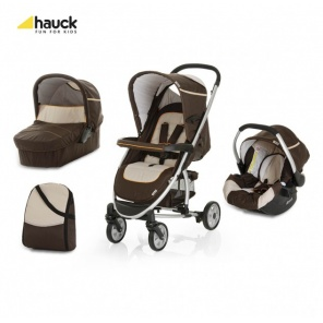 Коляска 3х1 Hauck Malibu All in One Brown