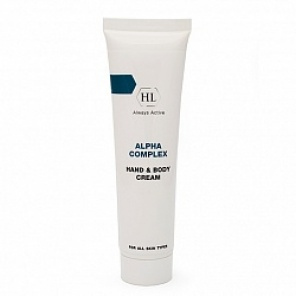 Крем для тела и рук Holy Land ALPHA COMPLEX Hand & Body Cream